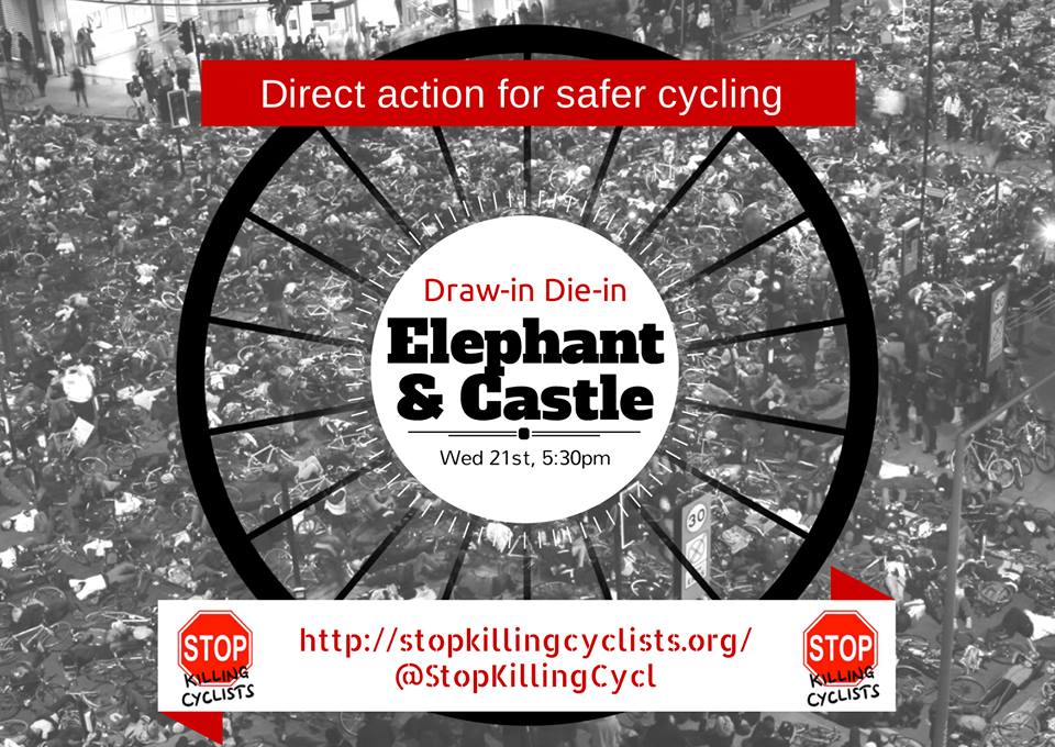 Stop Killing Cyclists - E&C event logo