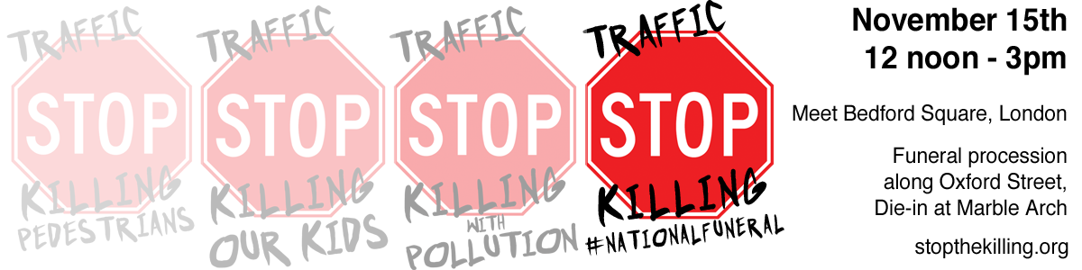 National Funeral - Traffic Stop banner
