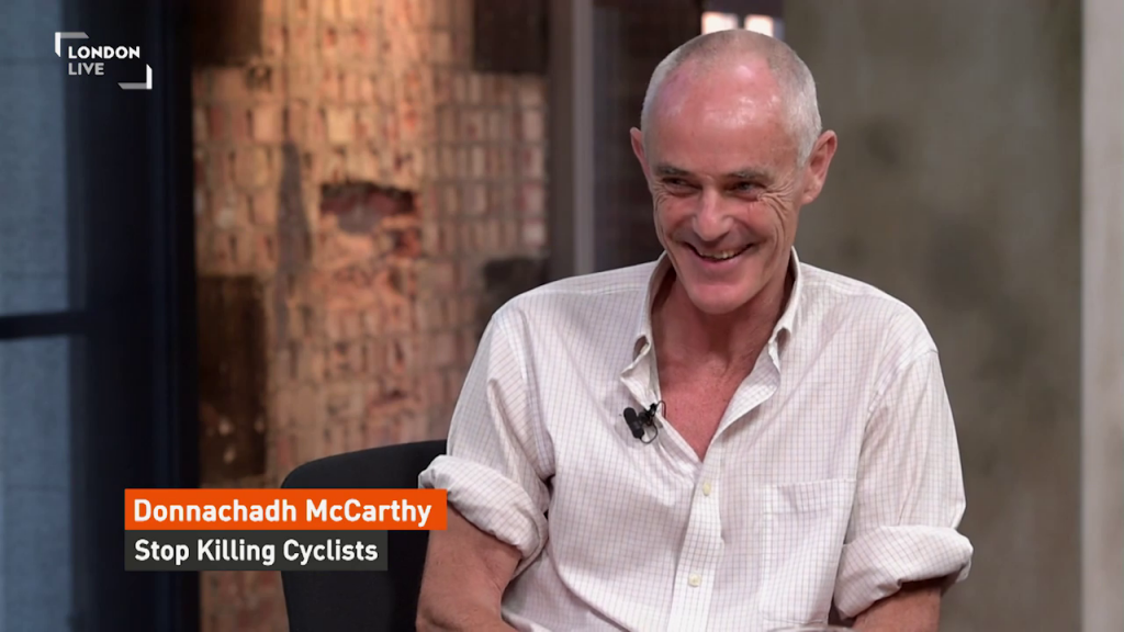 London Live interview of Donnachadh McCarthy 2015-07